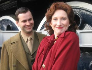 Morgan Justiss & Ian Sinclair as May & Raleigh