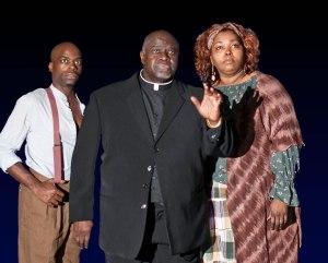 Cedric Neal, Akin Babatunde, Liz Mikel