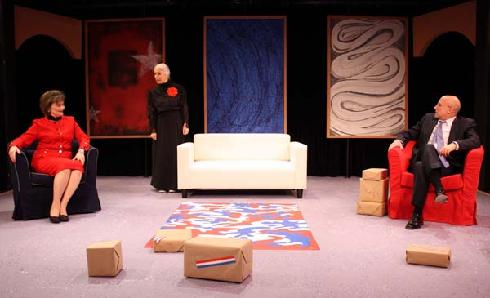 the sandbox edward albee setting