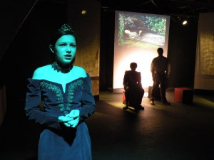 Gertrude reports Ophelia's suicide (Madeleine Norton)