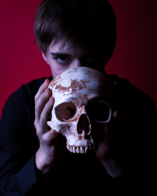 Chris Rodenbaugh as Hamlet