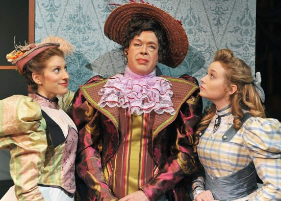 "Lady Bracknell instructs her ""wards"" in Oscar Wilde's ""The Importance of Being Earnest"""