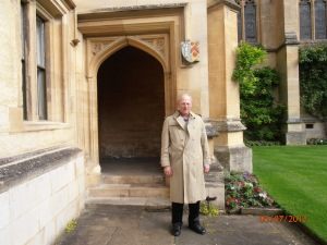 Andrew B. Harris during research at Oxford