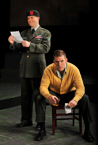"David Blalock & Michael Mayes in ""Glory Denied"" by Tom Cipullo"