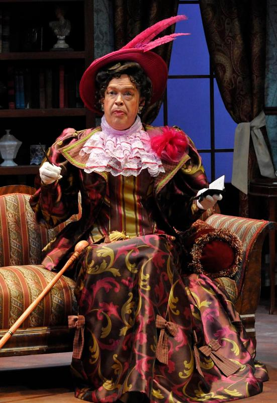 Michael Jones as Lady Bracknell