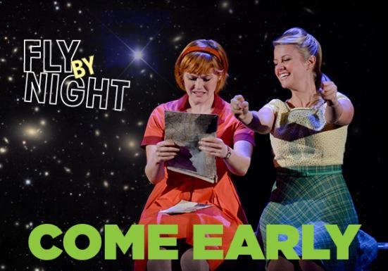Kristin Stokes, Whitney Bashor in Fly By Night