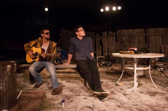Joey Folsom as jasper, Justin Duncan as Evan