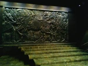 Set by Brian Clinnin: Julius Caesar, Trinity Shakespeare Festival