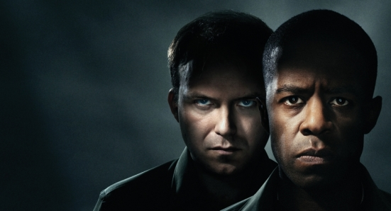 "National Theatre's ""Othello"": Rory Kinnear as Iago; Adrian Lester as Othello"