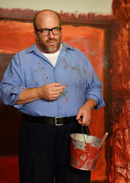 D. Lance Marsh as Mark Rothko