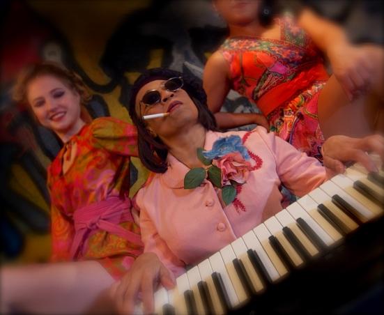 Rhonda Boutte at keyboards