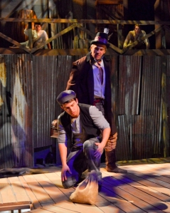 Van Quattro as Injun Joe and Jake Buchanan as Joe Harper. Karen Almond photo
