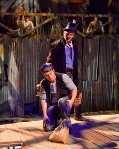 Van Quattro as Injun Joe and Jake Buchanan as Joe Harper. Karen Almond photo