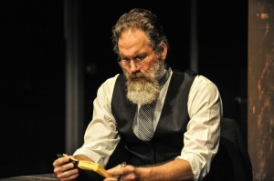 Stan Denman as Lincoln's Secretary Stanton