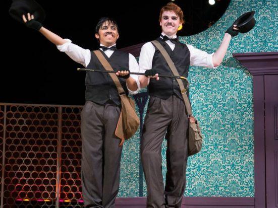 Dueling Dromios: Dante Flores, Nicholas Mayfield