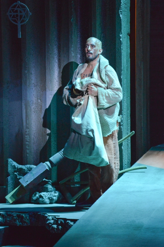 Nehal Joshi as Jean Valjean