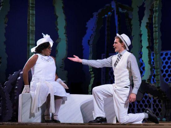 Antipholus of Syracuse pledges his love to Luciana: Austin Short, Paige Madkins