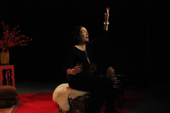 Dina Sheehan as Diana Vreeland in Full Gallop.