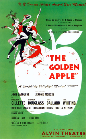 Poster for 1954 Broadway production
