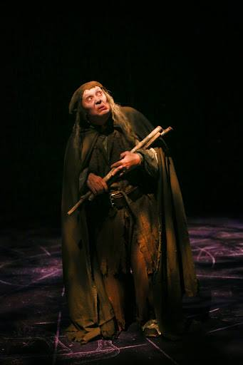 David Coffee as Caliban. The TEMPEST