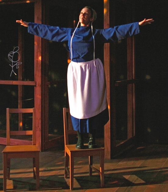 Katherine Michelle Tanner in The Amish Project at Oklahoma CITY REPertory Company