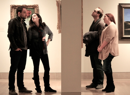 At The Met: L to R --David Price, Sarah Elizabeth Smith, Matthew Silar, Juliette Talley