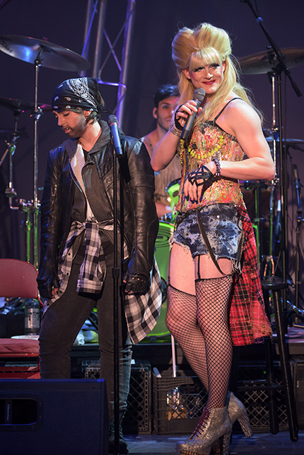 Grace Neeley as Yitzhak and Kyle Igneczi as Hedwig