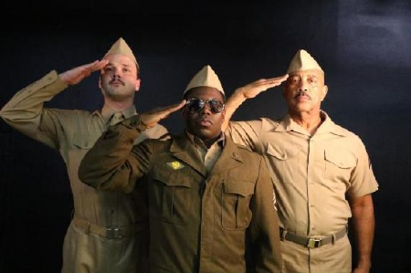 A Soldier's Play: Christian Taylor, Christopher Dontrell Piper, Hassan El-Amin