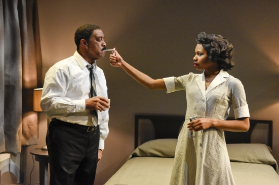 Hassan El-Amin and in Katori Hall's The Mountaintop