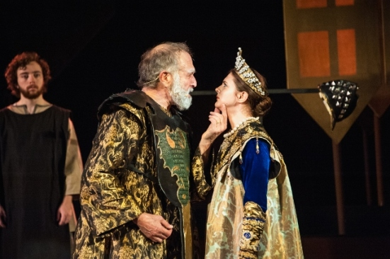Lear spurns Cordelia (Fred Curchack, Kelsey Godfrey)