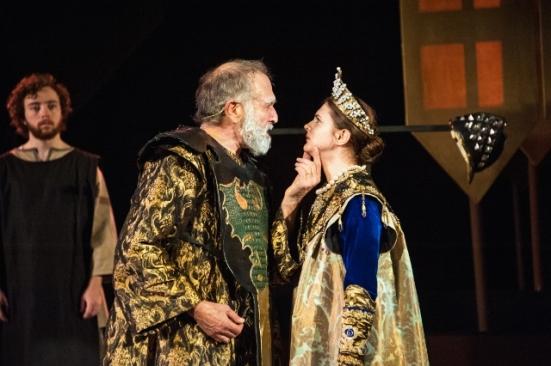 Lear spurns Cordelia (Fred Curchack, Kelsey Godfrey)