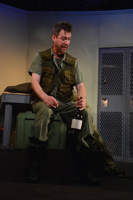 Pat Warson in L.I.P.Service's Streamers at The Firehouse Theatre