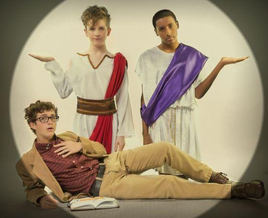 Jake Allemn, Tex Patrello, Brian Wright in GOD