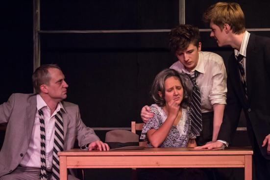 Death of A Salesman: Jeff Swearingen, Kennedy Waterman, Chris Rodenbaugh, Tex Patrello