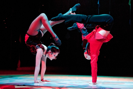 """Duo Resonance"": Contortion and Hand-balancing"