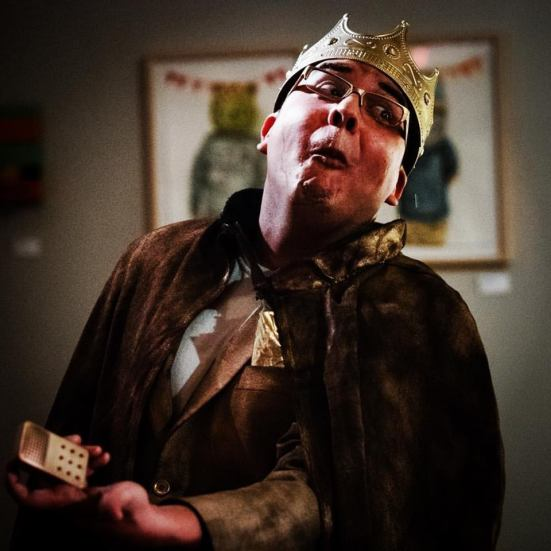 Rafael Tamayo as King Midas