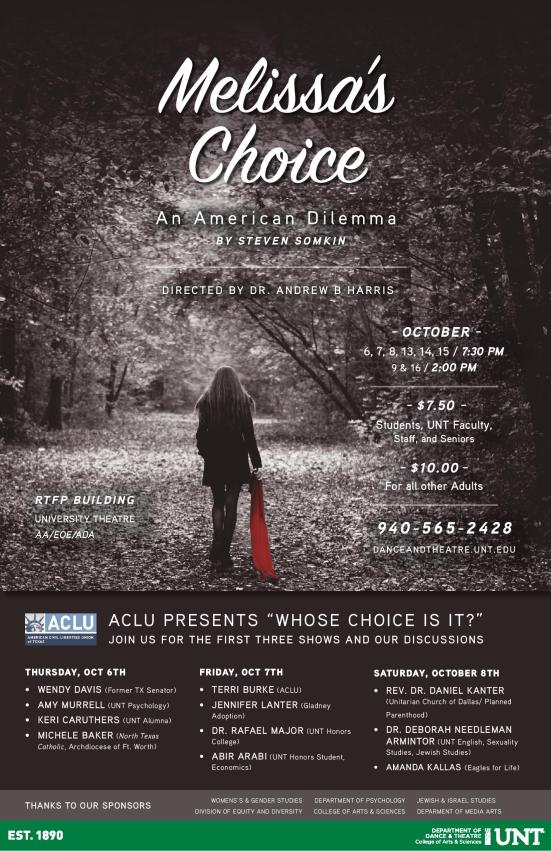 Melissa's Choice by Steven Somkin